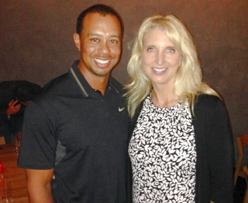 Tiger Woods and Carlette Patterson